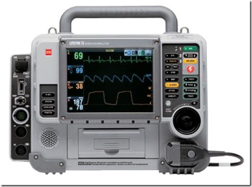 Lifepak 15 Monitor Defibrillator SPO2 and 12 Lead ECG plus more