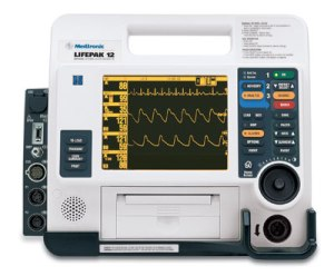 Lifepak 12 multi parameter monitor and defibrillator