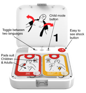 The Lifepak CR 2 semi automatic defibrillator can shock in as little as 7 secs with the second and subsequent shocks