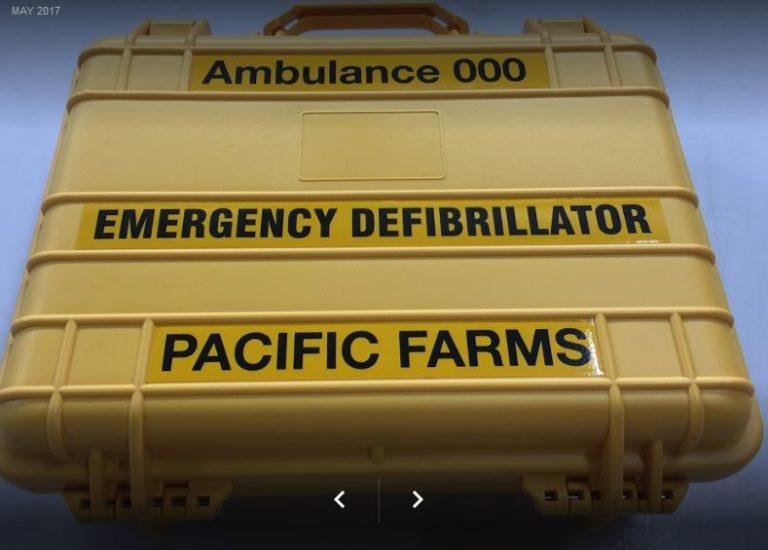 AED Defibrillator Case Water and Dust resistant for Lifepak, Defibtech, defibrillators