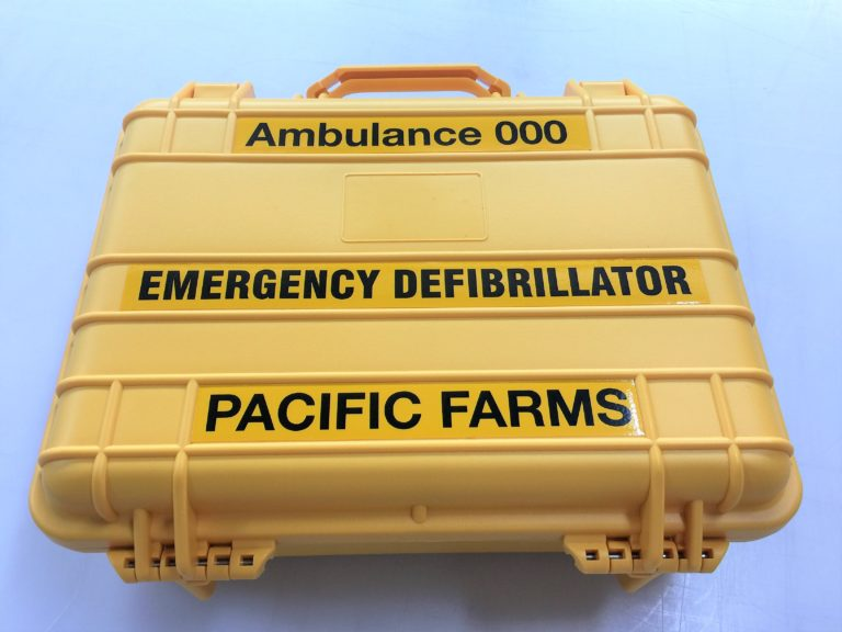 AED Defibrillator - Dust and Water Resistant Case